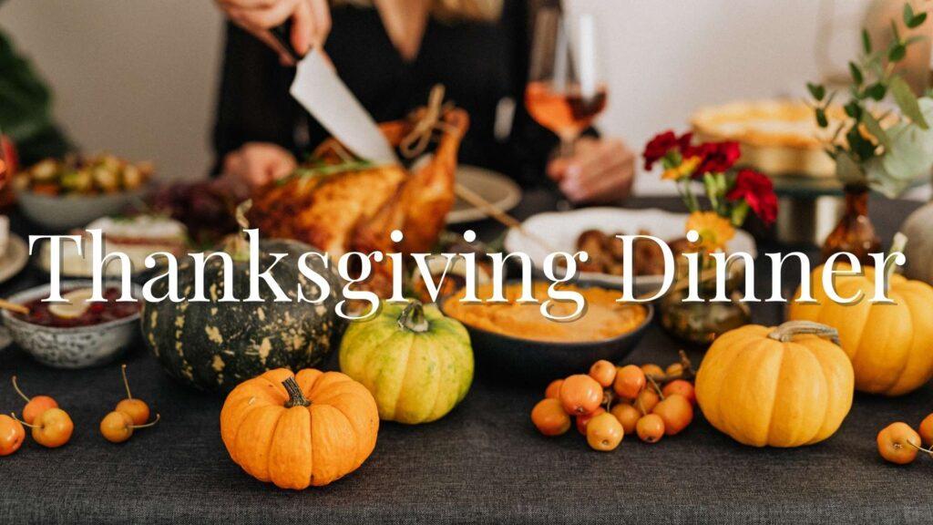 Thanksgiving Dinner 1920x1080